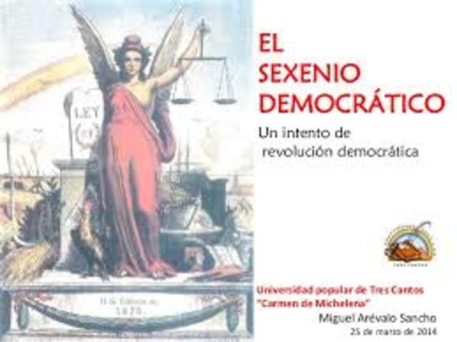 Sexenio Liberal democrático, España
