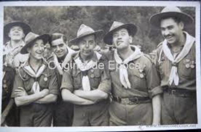 Fundación de los Boy Scouts británicos, Gran Bretaña