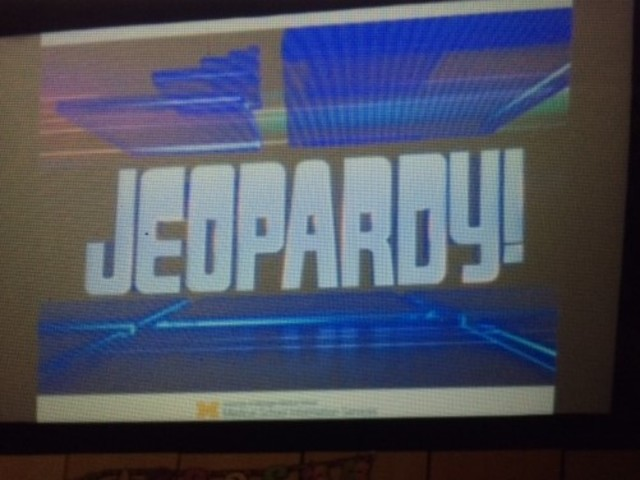 My dad and Jeopardy taught me to read!