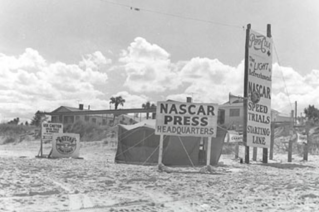 First NASCAR sanctioned race