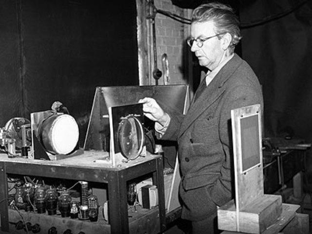 John Logie Baird y la Televisón
