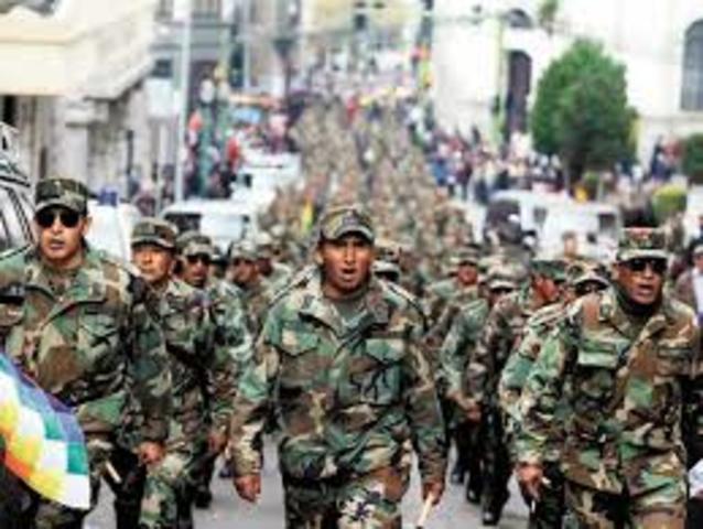 Juventudes movilizadas a las fuerzas armadas, Colombia