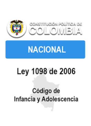 Creación de la ley 1098 de 2006, Colombia