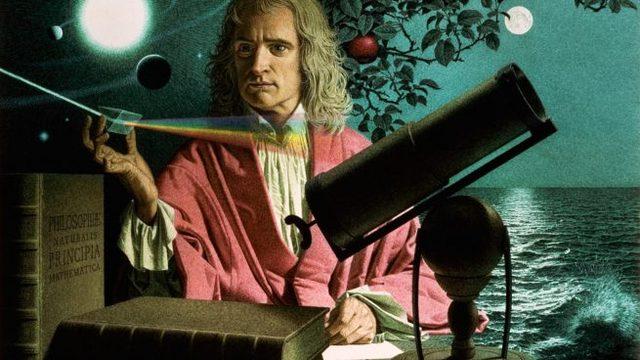 Isaac Newton y el Color
