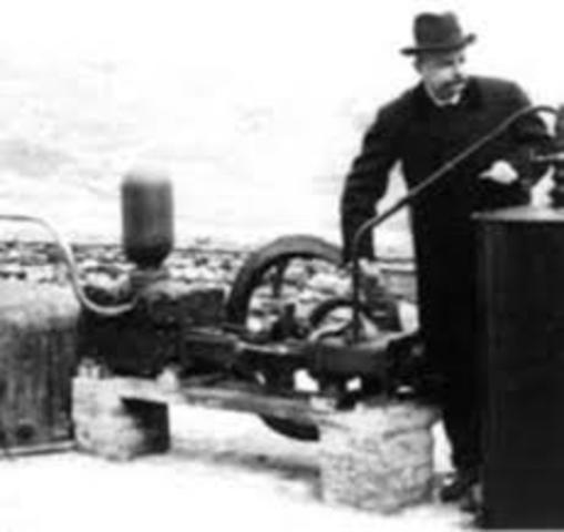 AÑO 1827. SISTEMA DE UN CAMPO GEOTÉRMICO