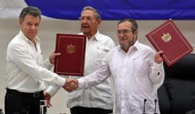 PROCESO DE PAZ COLOMBIANO.
