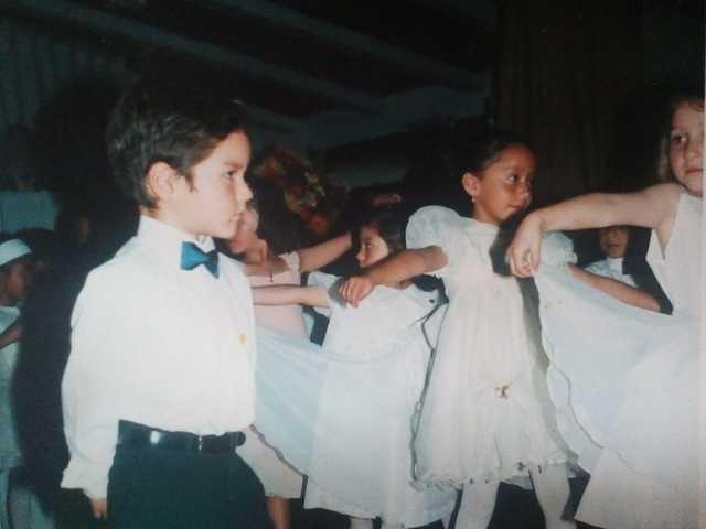 Primer baile Colegio Espíritu Santo