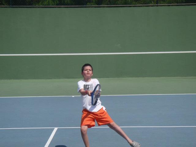 Primer día de clase de Tenis