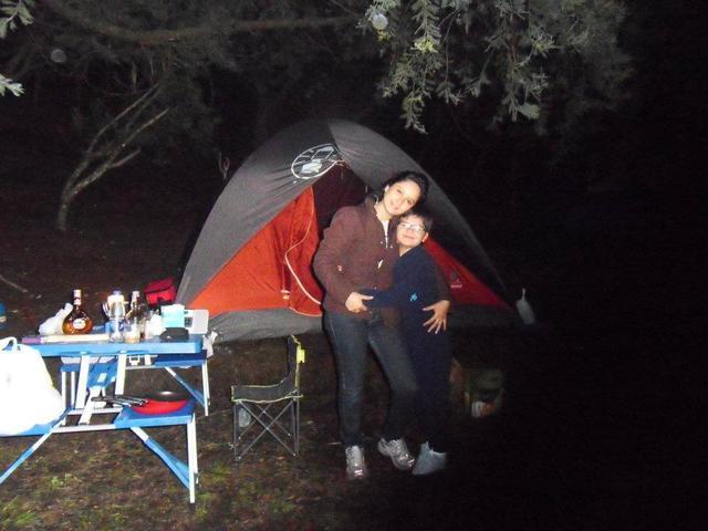 Primer día de Camping en Suesca
