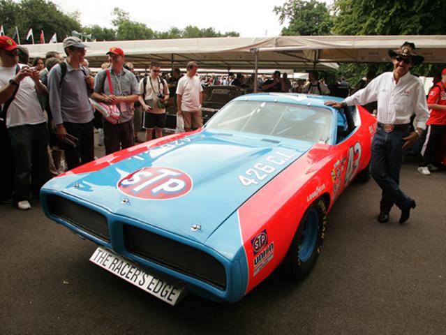 STP's sponsorship of Richard Petty's No. 43