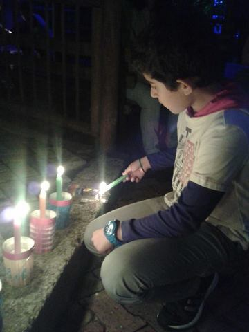 My First Day Of The Candles