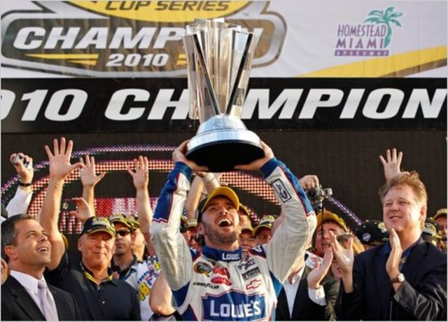 Jimmie Johnson wins 5th Straight Title