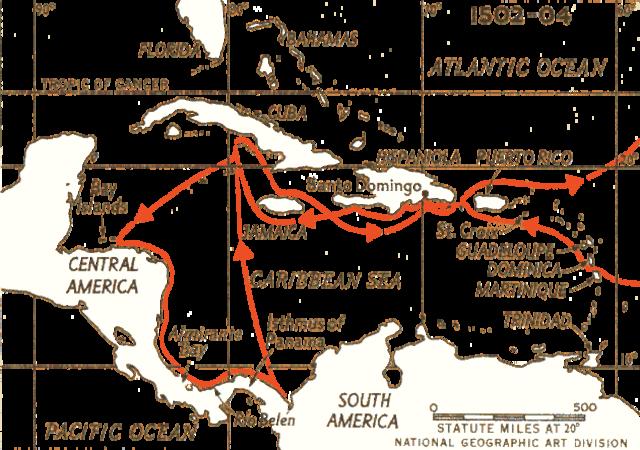 Christopher Columbus- Fourth Voyage