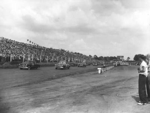 First Official NASCAR Race