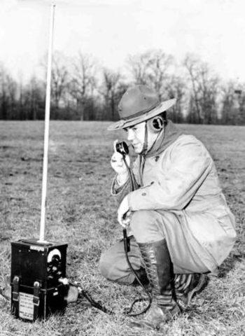 Primeros radios portatiles