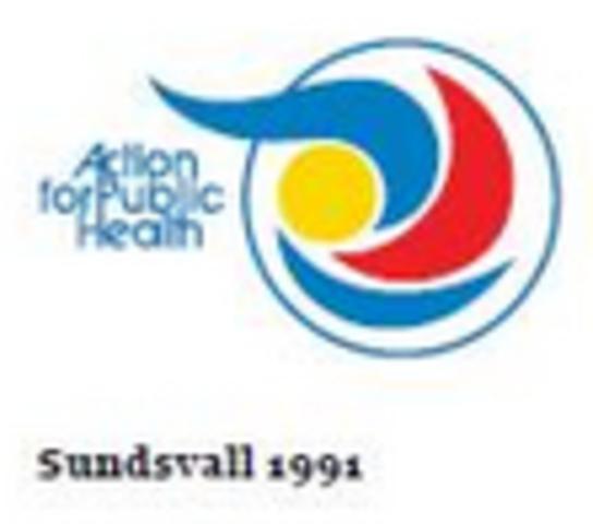 III Conferencia Internacional Sobre Promoción de la Salud Entornos Propicios para la Salud - Declaracion de Sundsvall