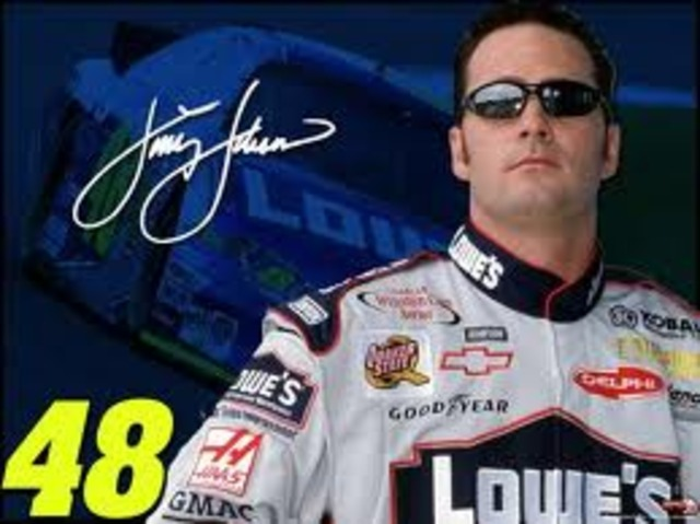Jimmie Johnsons First Win at the Nappa Auto Parts 500