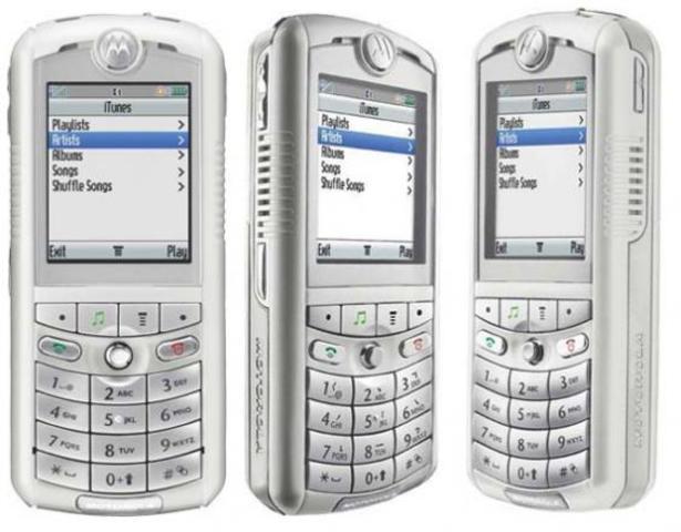 Windows Mobile y Motorola ROKR E1