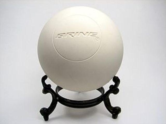 Modern Rubber Lacrosse ball