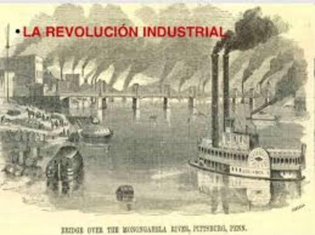 1° Etapa. Desde la revolución industrial hasta 1930