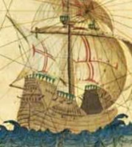 Parte para a Índia na armada de D. Francisco de Almeida