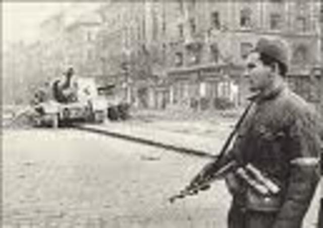 Hungarian Revolution Began