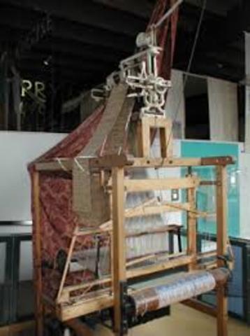 Invención del telar de Jacquar.