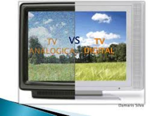 Tv analógica y digital