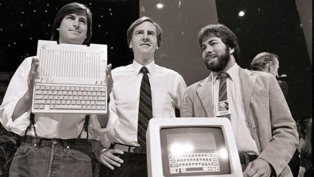 Las Creaciones De Steve Job Y Stephen Wozniak