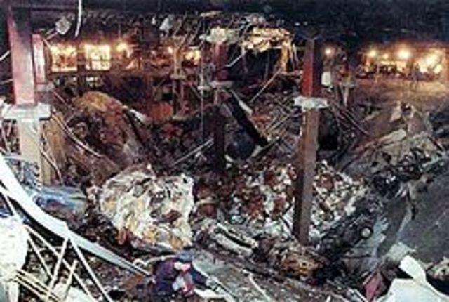 The World Trade Center Bombed!