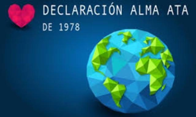 Conferencia Internacional de UNICEF y de la OMS sobre Atención Primaria de Salud realizada en Alma-Ata