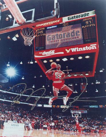 Michael Jordan's significant Person