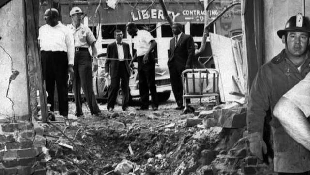 Church bombing in Birmingham, Alabama.