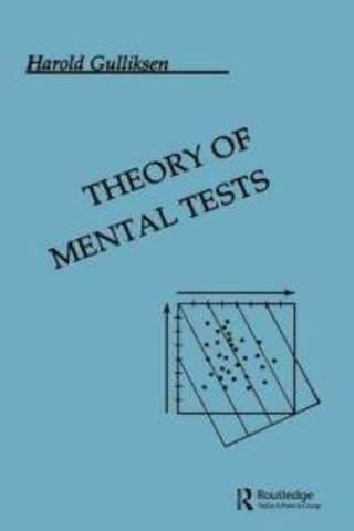 Teoria de los tests mentales.