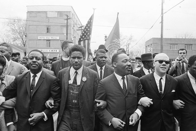 March from Selma, Alabama to Montgomery, Alabama
