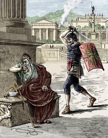 Sack of the Greek Colony of Syracuse (Wine)