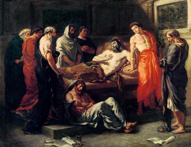 Death of Marcus Aurelius (Wine)