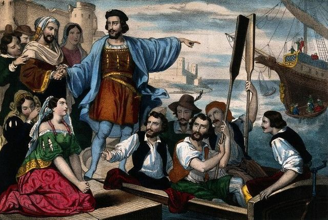 Columbus Discovers the New World (Spirits)
