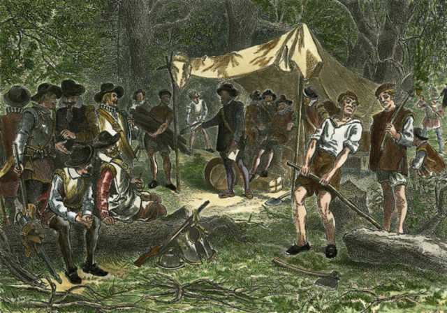 First English Colony in North America (Spirits)