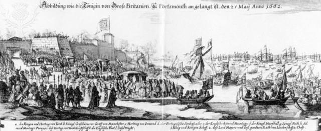 Marriage of Charles II and Catherine (Tea)