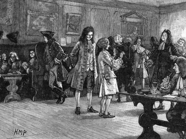 Establishment of the London Penny Post (Coffee)