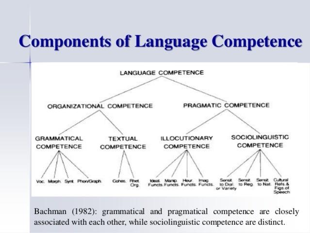 Bachman - Model of Communicative Language Ability