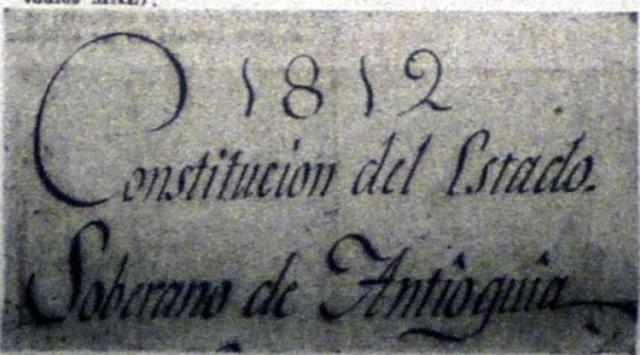 Constitución del Estado de Antioquia