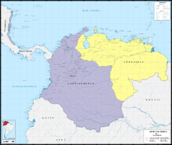 Nacimineto de la República de Colombia