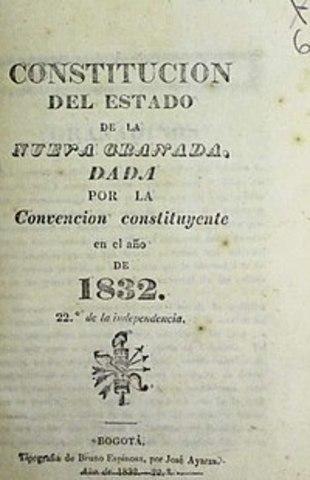 La Constitución del Estado de la Nueva Granada