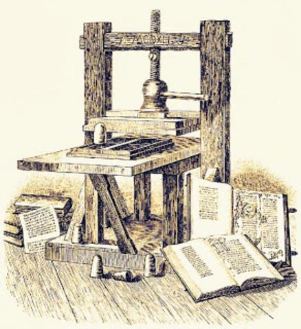 La imprenta en el siglo XV