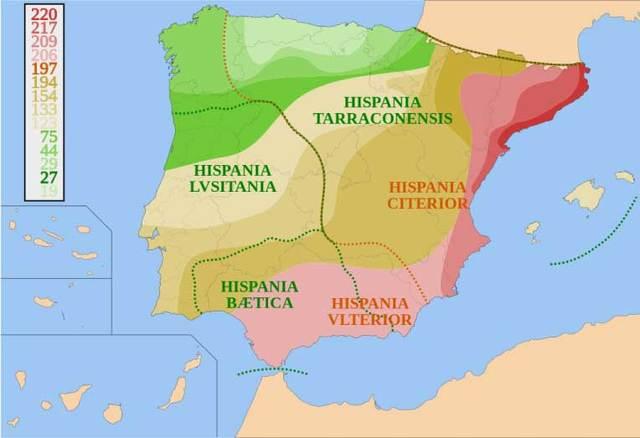 Hispania provincia de Roma