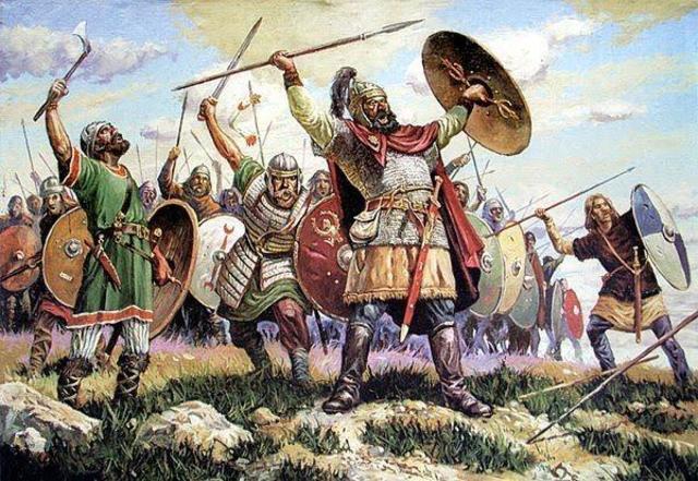Visigodos inician la ocupación de Iberia