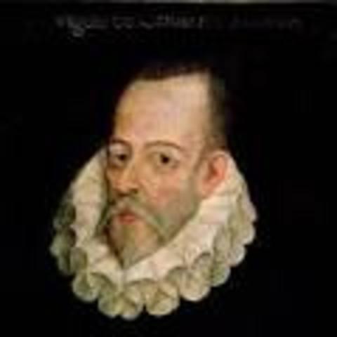 """Miguel de Cervantes Saavedra """"El principe de los ingenios"""""""