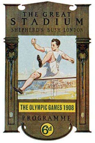 1908 Inglaterra/Londres